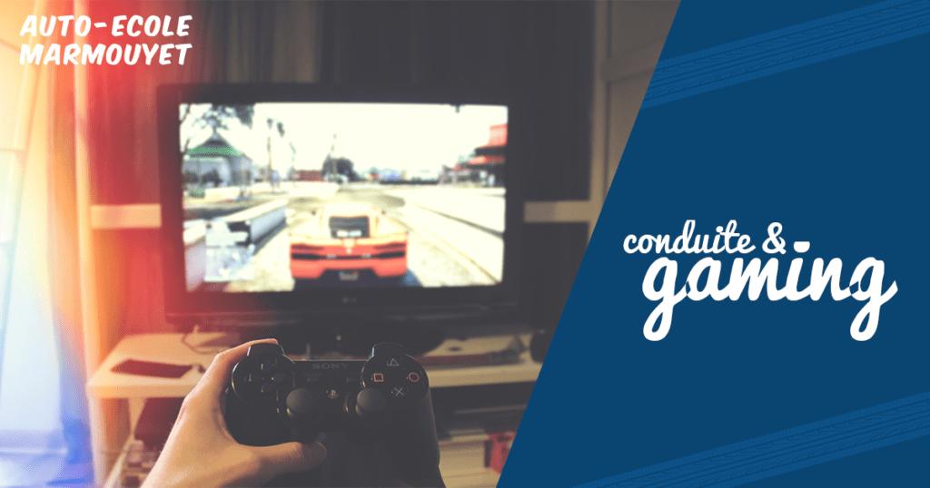 Conduire et jeux vidéos