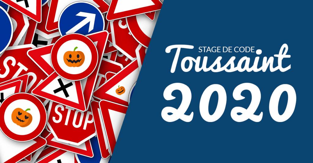 Stage de code toussaint 2020
